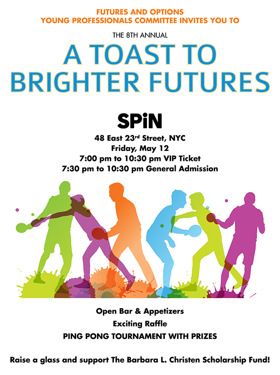 A Toast to Brighter Futures